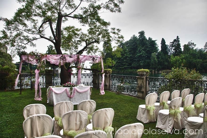 cerimonia a Villa Rusconi Clerici