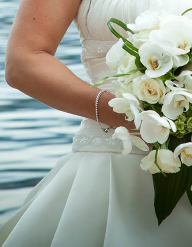 BOUQUET CON ORCHIDEE