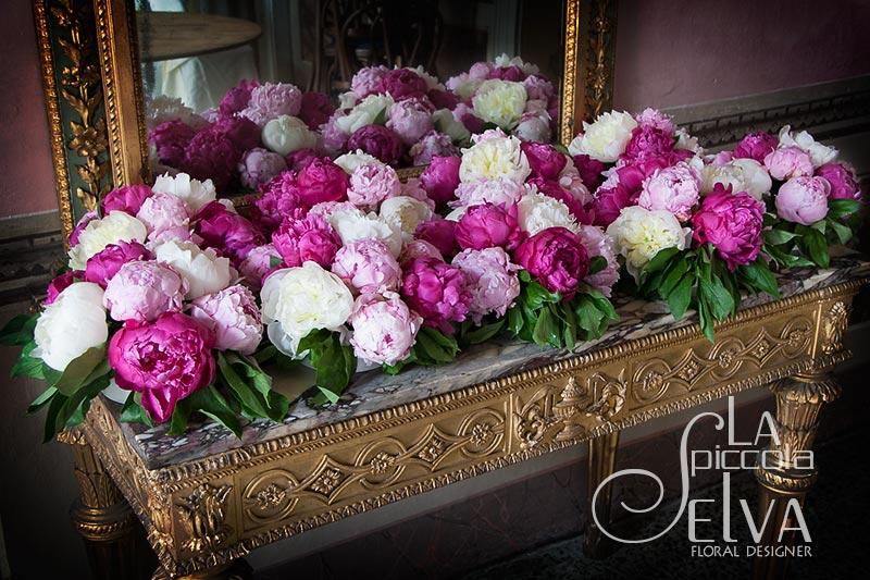 Fiore matrimonio uomo : Addobbi floreali e bouquet con peonie