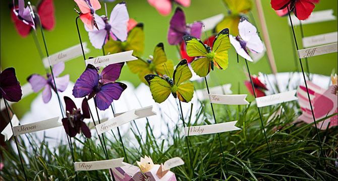 Matrimonio Tema Fiori : Matrimonio a tema farfalle e fiori