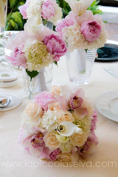 Addobbi Floreali Matrimonio Periodo Natalizio : Addobbi floreali e bouquet con peonie