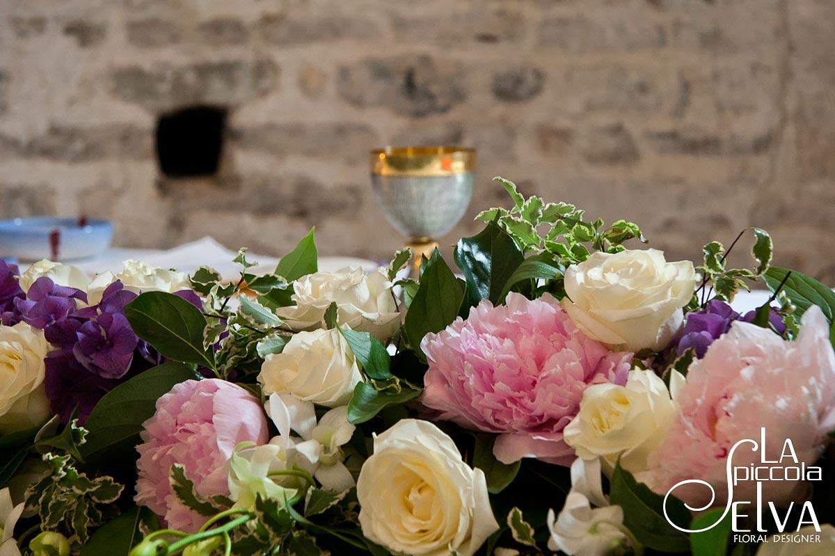 Bouquet con fiori di peonia addobbi floreali per for Peonie periodo