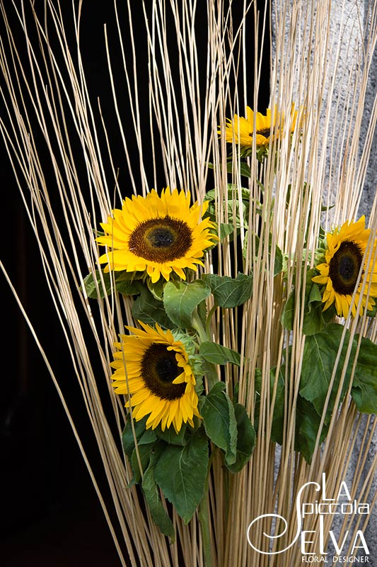 Matrimonio Country Chic Girasoli : Fiori bouquet addobbi floreali e centrotavola in stile