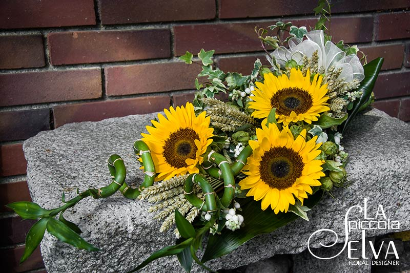 Matrimonio Country Girasole : Fiori matrimonio country chic