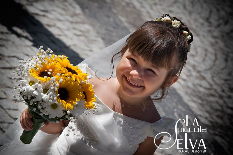 Bouquet Matrimonio Girasoli : Fiori matrimonio country chic