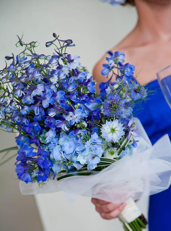 Matrimonio In Blu : Fiori blu per matrimonio