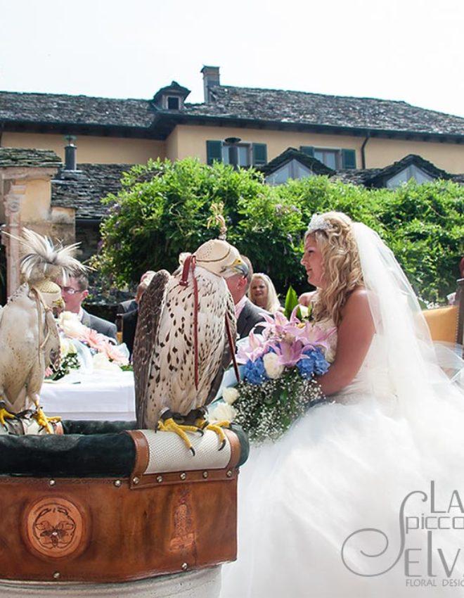 GLI ANELLI? LI PORTA IL FALCHETTO! Un matrimonio indimenticabile a Villa Bossi