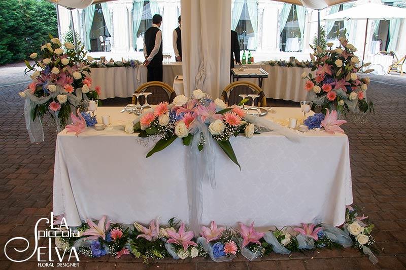 Un matrimonio indimenticabile a villa bossi - Addobbi tavoli per 18 anni ...