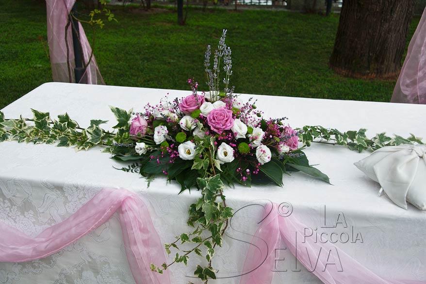 addobbi floreali Villa Rusconi Clerici