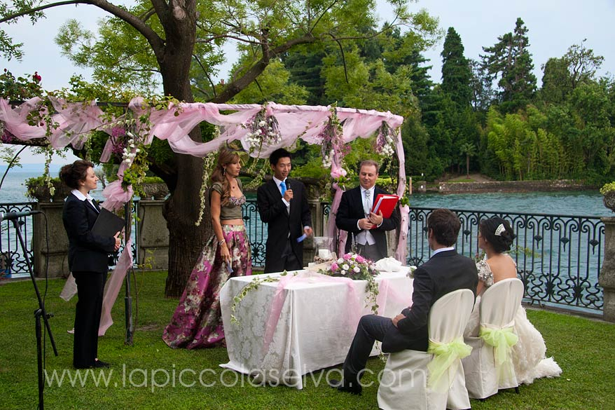 cerimonia nozze Villa Rusconi Clerici