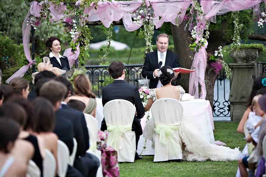 cerimonia matrimonio Villa Rusconi Clerici