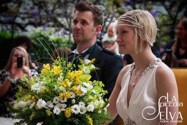 Fiori gialli per matrimoni a Maggio