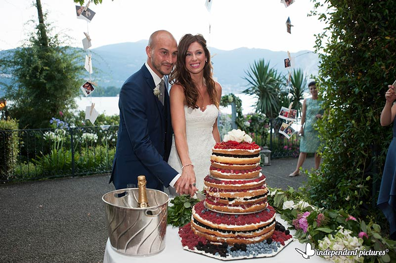wedding cake a Villa Rusconi Clerici