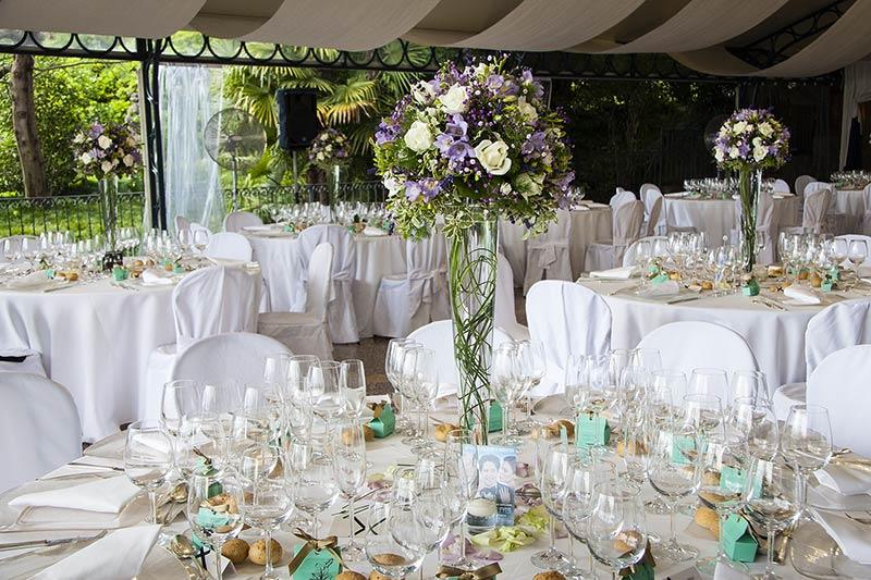 Fiorista matrimonio Villa Rusconi Clerici